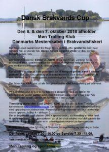 Tilmelding til Dansk Brakvands Cup 2018 starter snart